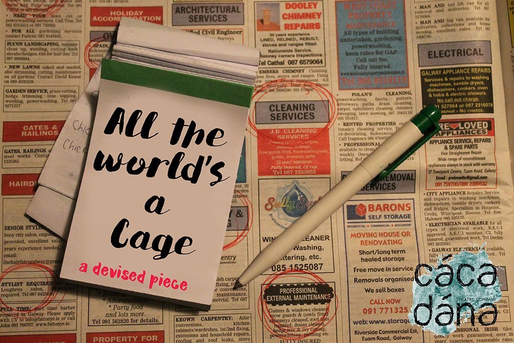 All The World's A Cage