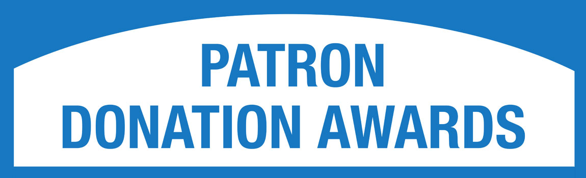 Patron Donation Awards 2021