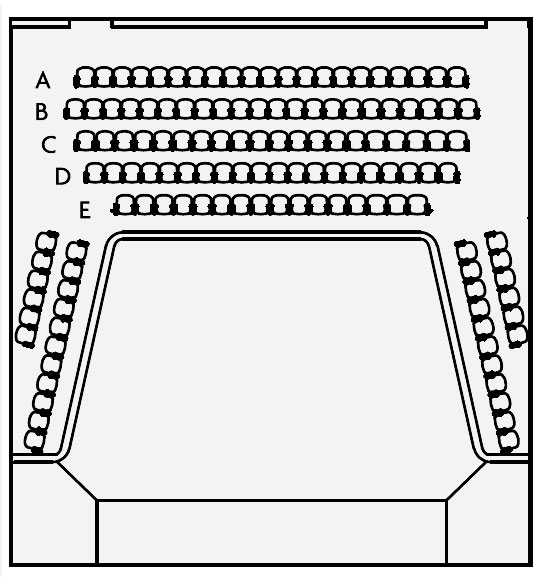 New Balcony Level Seating Plan