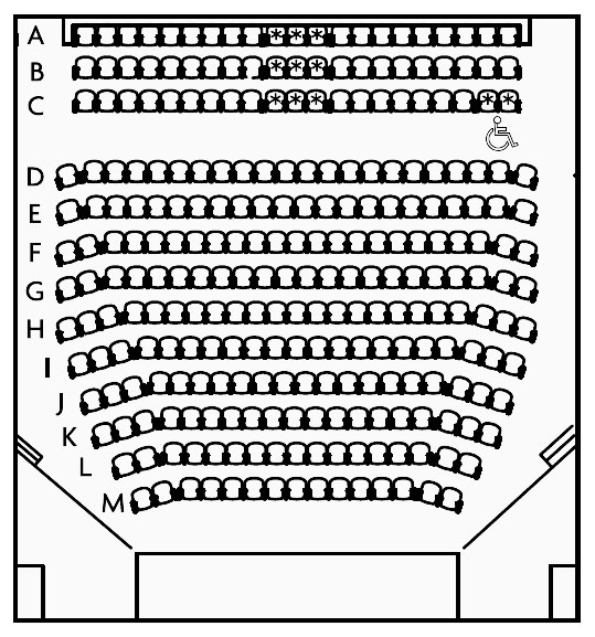 New Ground Floor Seating Plan