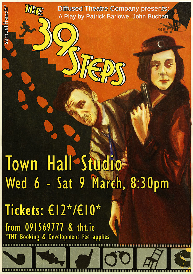 Diffused Theatre Company presents The 39 Steps