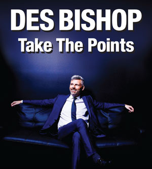 Des Bishop - Take The Points