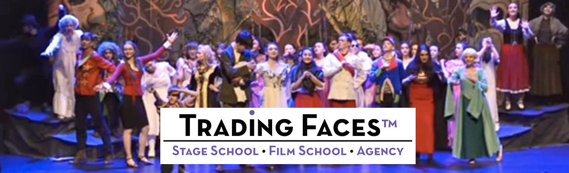 Trading Faces Stage SchoolLegally Blonde, The Sound of Music, OMG Disney
