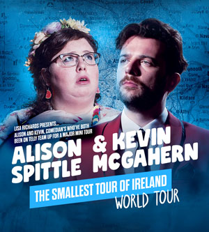 Alison Spittle & Kevin McGahern: The smallest tour of Ireland world tour